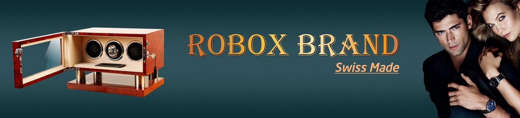 ROBOX WATCH WINDER BOX - Perfect choice for your value watches