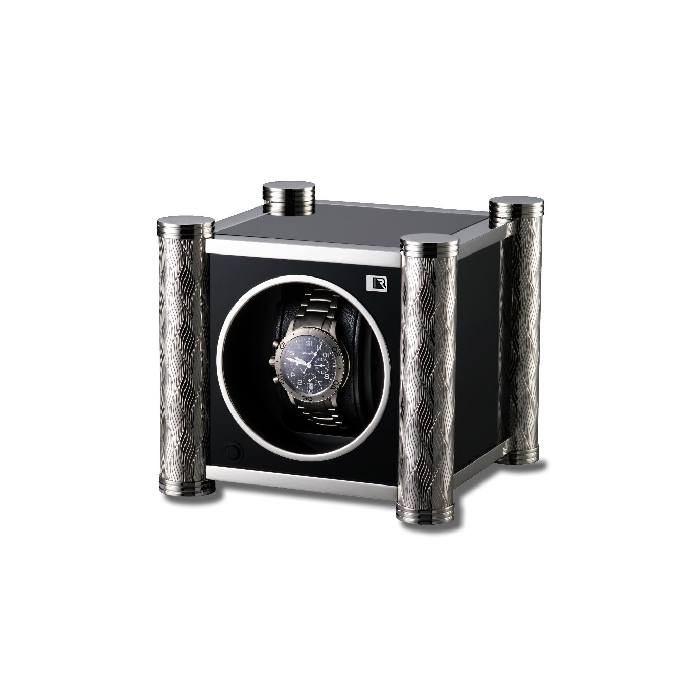 WATCH WINDER FOR 1 BOX SRW6001BS - Perfect for your automatic watch